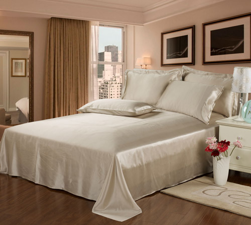 What do you get when you mix pink champagne with a bedroom design?