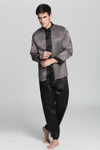 pyjama en soie homme. Black Bedroom Furniture Sets. Home Design Ideas