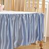 Coffee تنورة سرير الطفل من الحرير