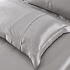 Silvergray Silk Pillowcases