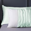 Pale Turquoise Silk Pillowcase