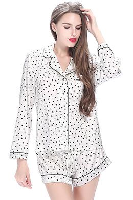 Silk Pajama Top