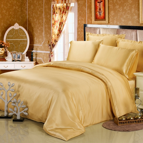 Gold Silk Sheets