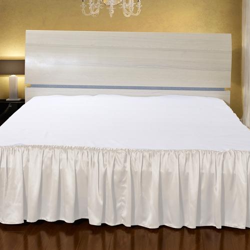 Marfil Silk Bed Valance