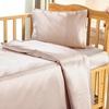 Azul claro Silk Cot Bed Linen Set