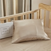 Light Blue مجموعة من منتجات سرير الطفل من الحرير