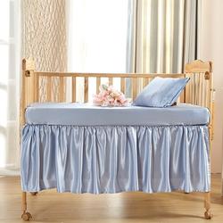 Silk Cot Bed Linen Set