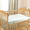 Apricot غطاء السرير لسرير الطفل من الحرير