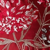 Claret Silk Pillow Cover