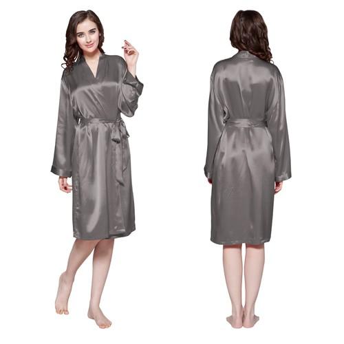 Silk Kimono Dressing Gown