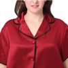 Claret Plus Size Pyjamas