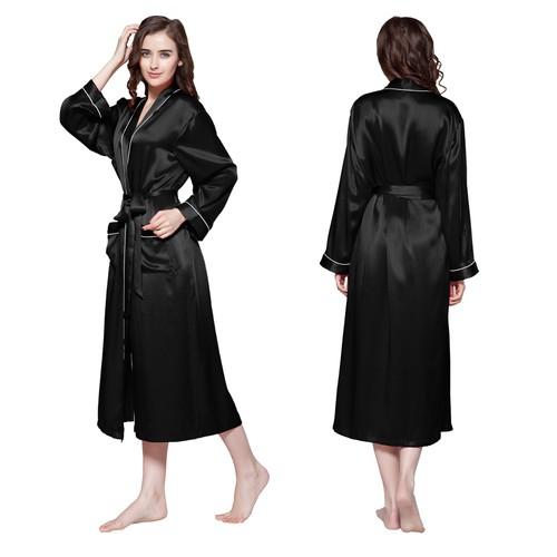 Negro Women Silk Dressing Gown