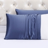 Ocean Blue Silk Pillowcase