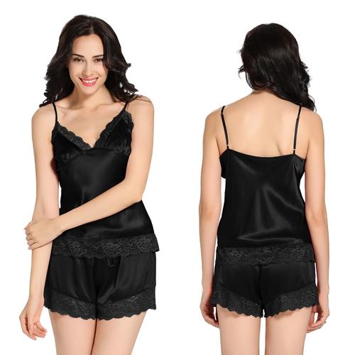 White Women Silk Camisole
