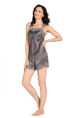 Pijama Seda Mujer