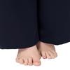 Navy Blue Plus Size Silk Pyjamas