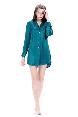 Women Silk Nightshirt