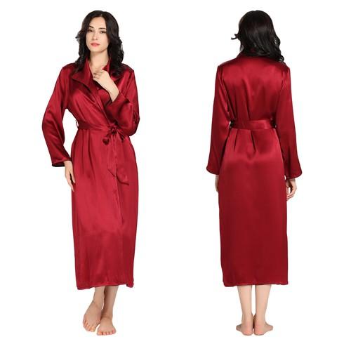 Long Silk Pajamas