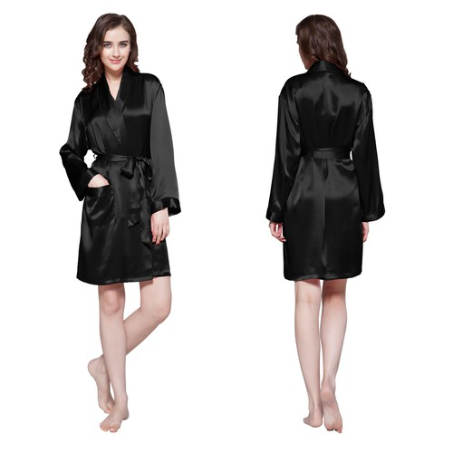 Negro Women Silk Dressing Gown