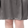 Dark Gray Plus Size Robe