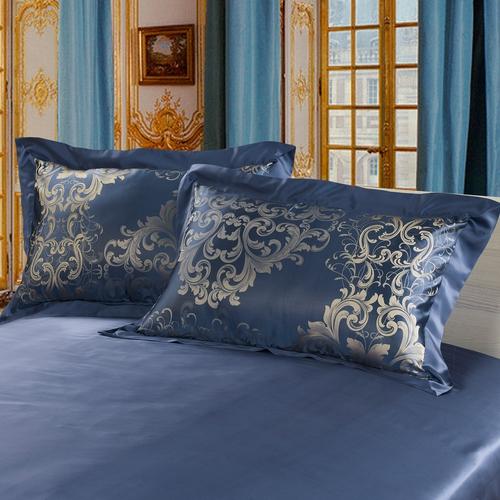 Bright Coffee Silk Pillowcase