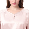 Light Pink Plus Size Silk Pajama