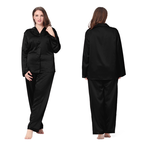Black Plus Size Pyjamas