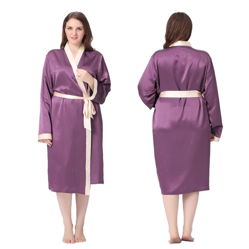 Light Pink Plus Size Robe