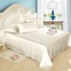 Soft Green Silk Bed Linen Set