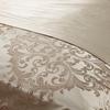 Bright Coffee Silk Duvet Cover