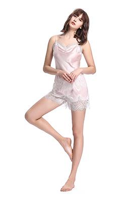 Pyjashort Femme Soie