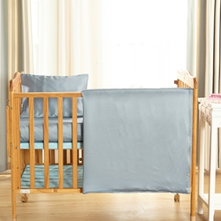 Silk Crib Duvet Cover