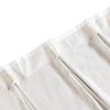 White silk curtain