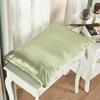 Soft Green غطاء الوسادة من الحرير