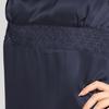 Azul Marino Camisones Seda Mujer