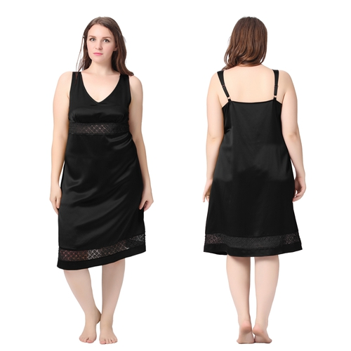 Black Plus Size Robe