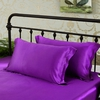 Violet Silk Pillowcases