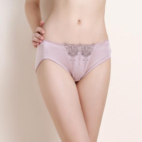 Bubblegum Pink Silk Panty