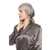 Taupe Silk Sleep Cap
