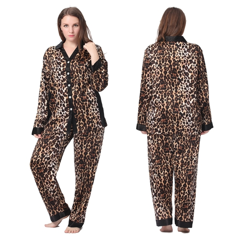 Leopard Plus Size Pyjamas