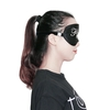 Black Silk Sleep Eye Mask