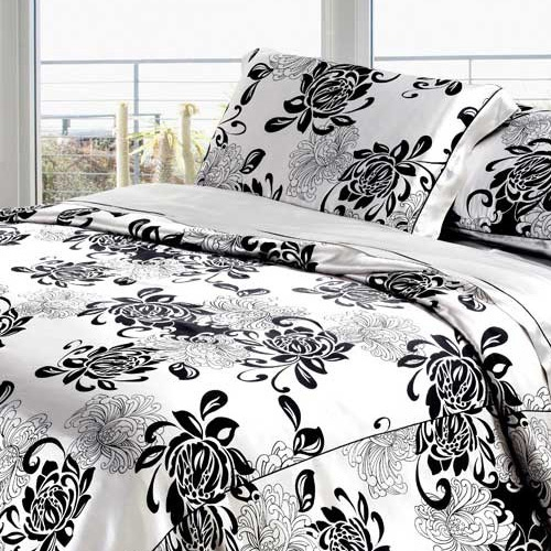 Gris-Plata Silk Bed Linen Set