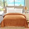 Orange Silk Blanket