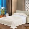Ivory مفرش السرير من الحرير