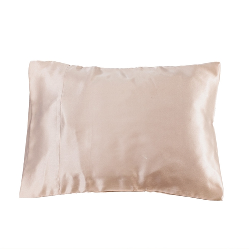 Apricot Silk Travel Pillowcase