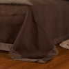 Chocolate Silk Coverlet