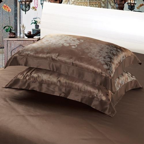 22 momme oxford seide kissenbez ge h lle schokolade. Black Bedroom Furniture Sets. Home Design Ideas