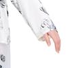 Lotus Weiß Damen Seide Pyjamas