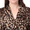 Leopard Seide Pyjamas