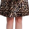 Leopard Damen Seide Nachthemd